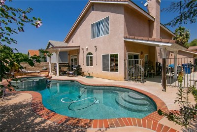Saugus Single Family Home For Sale: 28364 Rodgers Drive