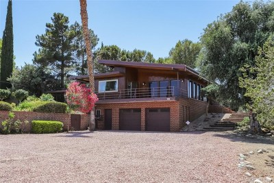 Palmdale Single Family Home For Sale: 321 West Barrel Springs Road