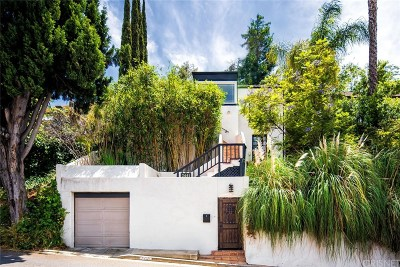 Hollywood Hills Single Family Home Active Under Contract: 3441 Oak Glen Drive