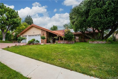 Woodland Hills CA Single Family Home For Sale: $1,149,000