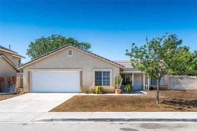 Palmdale Single Family Home For Sale: 5853 Barcelona Drive