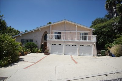 Granada Hills Single Family Home For Sale: 17600 Arvida Drive