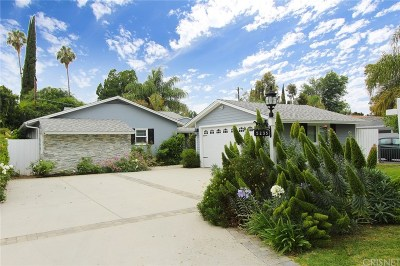 Single Family Home For Sale: 5235 Sunnyslope Avenue
