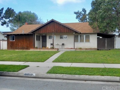 Granada Hills Single Family Home For Auction: 11009 Haskell Avenue