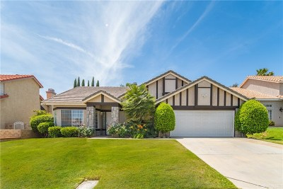 Palmdale Single Family Home For Sale: 3212 Sandstone Court