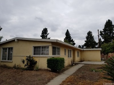 Sylmar Single Family Home For Sale: 14937 Polk Street