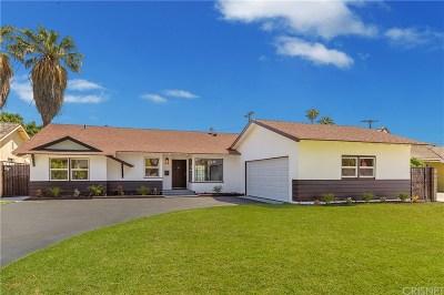 Granada Hills Single Family Home Active Under Contract: 16354 Bermuda Street