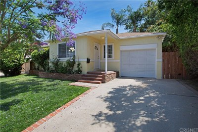 Encino Single Family Home For Sale: 17626 Miranda Street