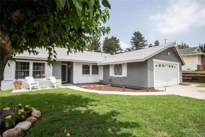Saugus Single Family Home For Sale: 22511 La Rochelle Drive
