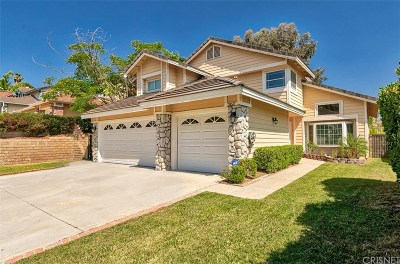 Castaic Single Family Home For Sale: 28547 Heather Lane
