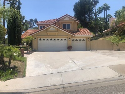 Stevenson Ranch Single Family Home For Sale: 25260 Sagecrest Circle