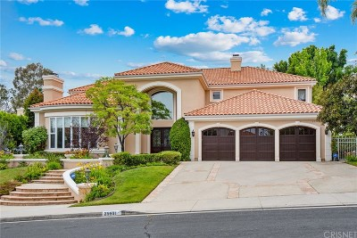Calabasas Single Family Home For Sale: 25531 Kingston Court