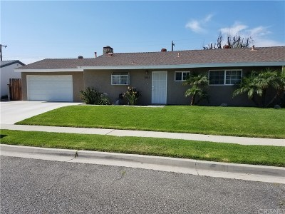 Simi Valley Single Family Home For Sale: 1831 Moore Street