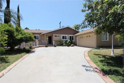 Canoga Park Single Family Home For Sale: 22110 Ingomar Street