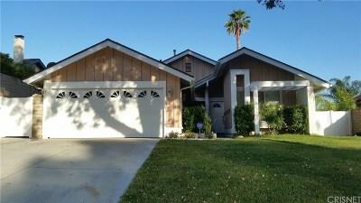 Valencia CA Single Family Home For Sale: $575,000