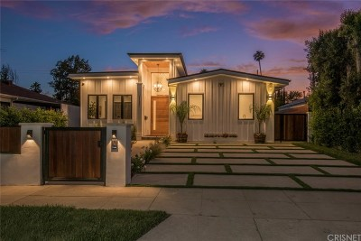 Sherman Oaks Single Family Home For Sale: 5137 Greenbush Avenue