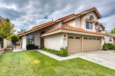 Saugus Single Family Home For Sale: 22018 Pamplico Drive