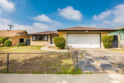 Pacoima Single Family Home Active Under Contract: 11271 Norris Avenue
