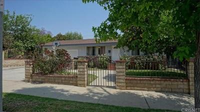 San Fernando Single Family Home Active Under Contract: 606 North Hagar Street