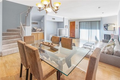 Sherman Oaks Condo/Townhouse Active Under Contract: 14348 Riverside Drive #8