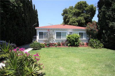 Sherman Oaks Single Family Home For Sale: 14223 Califa Street