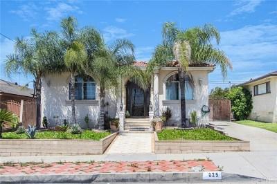 Montebello Single Family Home For Sale: 625 North 6th Street