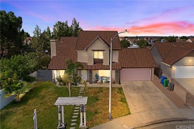 Palmdale Single Family Home For Sale: 1723 Plymouth Court