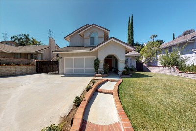 Saugus Single Family Home For Sale: 22422 Poplar Street