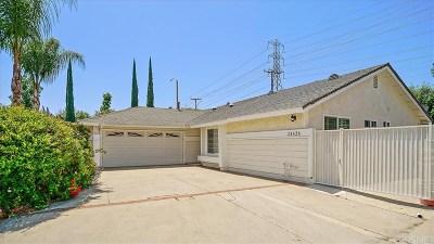 Valencia Single Family Home For Sale: 23426 Tristin Drive