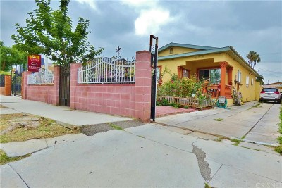 Los Angeles County Single Family Home Active Under Contract: 608 North Serrano Avenue
