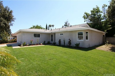 Simi Valley Single Family Home For Sale: 2191 Heather Street