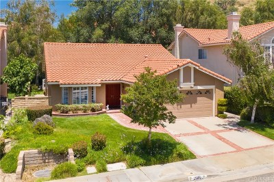 Saugus Single Family Home For Sale: 20061 Shadow Hills Court