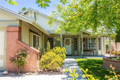 Saugus Single Family Home For Sale: 27614 Renwick Court