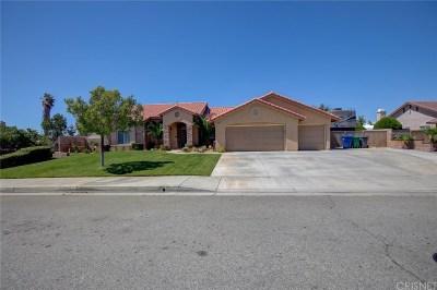 Palmdale Single Family Home For Sale: 5351 Max Godde Lane