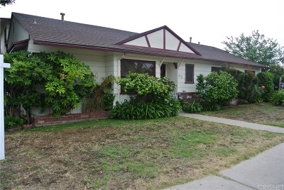 Single Family Home For Sale: 13350 Hartland Street