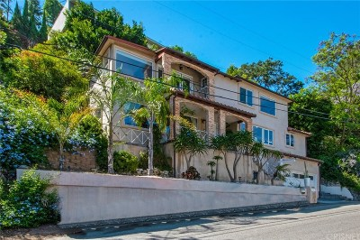 Single Family Home For Sale: 1635 Sunset Plaza Drive