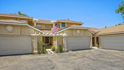 Saugus Condo/Townhouse Active Under Contract: 28405 Seco Canyon Road #138