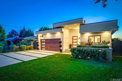 Sherman Oaks Single Family Home For Sale: 5543 Costello Avenue