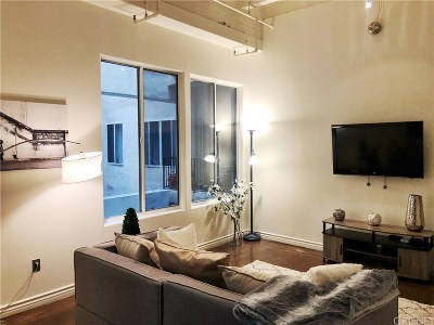 Los Angeles Condo/Townhouse For Sale: 312 West 5th Street #624