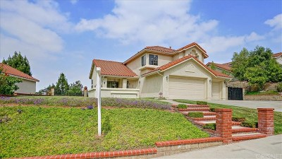 Stevenson Ranch Single Family Home For Sale: 25124 Sagecrest Circle