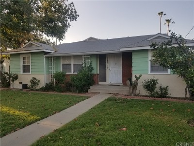 Reseda Single Family Home For Sale: 18017 Vanowen Street