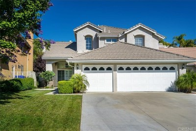 Stevenson Ranch Single Family Home Active Under Contract: 25633 Frost Lane