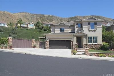 Saugus Single Family Home Active Under Contract: 29232 Garnet Canyon Drive
