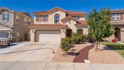 Palmdale Single Family Home For Sale: 2713 Senna Lane
