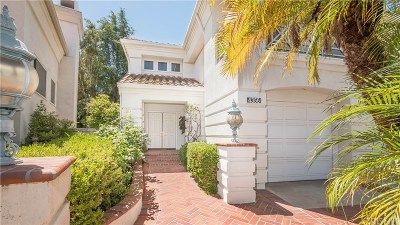 Calabasas Single Family Home For Sale: 4356 Park Monte Nord