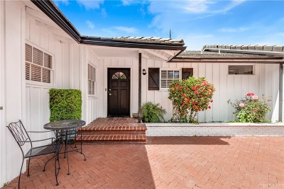 Encino Single Family Home For Sale: 16141 Dickens Street