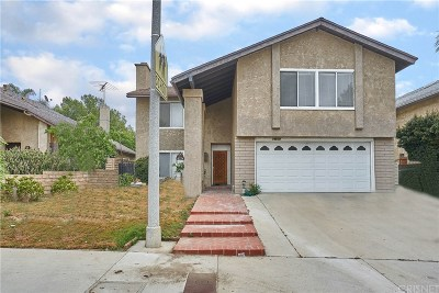 Mission Hills San Fernando Single Family Home For Sale: 14920 Index Street