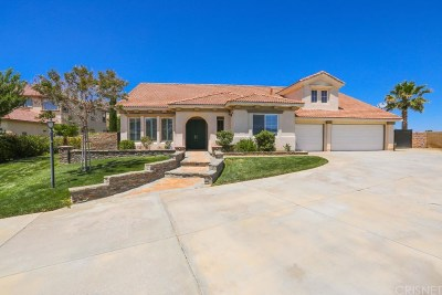 Palmdale Single Family Home Active Under Contract: 40941 Oakgrove Court