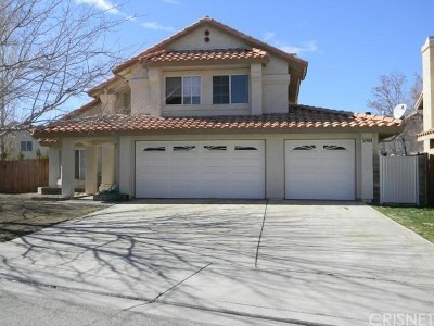 Palmdale Single Family Home For Sale: 37909 Wesley Court