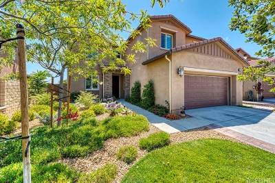 Saugus Single Family Home For Sale: 19556 Lanfranca Drive